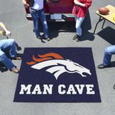 Denver Broncos Man Cave Tailgater Rug 5'x6'