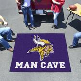 Minnesota Vikings Man Cave Tailgater Rug 5'x6'