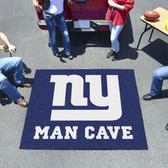 New York Giants Man Cave Tailgater Rug 5'x6'