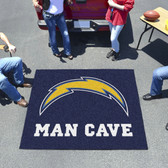 San Diego Chargers Man Cave Tailgater Rug 5'x6'