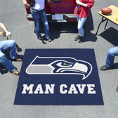 Seattle Seahawks Man Cave Tailgater Rug 5'x6'