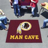 Washington Redskins Man Cave Tailgater Rug 5'x6'