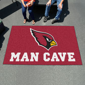 Arizona Cardinals Man Cave UtliMat Rug 5'x8'