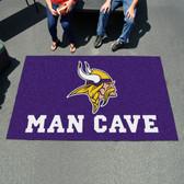 Minnesota Vikings Man Cave UtliMat Rug 5'x8'