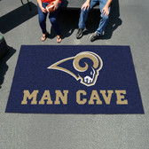 St. Louis Rams Man Cave UtliMat Rug 5'x8'