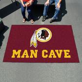 Washington Redskins Man Cave UtliMat Rug 5'x8'