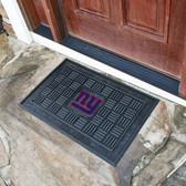 New York Giants Medallion Door Mat