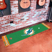 Miami Dolphins Putting Green Runner