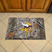 """Minnesota Vikings Scraper Mat 19""""x30"""" - Camo"""
