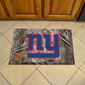 """New York Giants Scraper Mat 19""""x30"""" - Camo"""