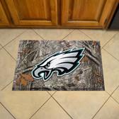 """Philadelphia Eagles Scraper Mat 19""""x30"""" - Camo"""