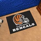 """Cincinnati Bengals Starter Rug 19""""x30"""""""