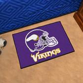 """Minnesota Vikings Starter Rug 19""""x30"""""""
