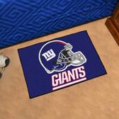 """New York Giants Starter Rug 19""""x30"""""""