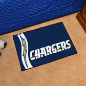 """San Diego Chargers Uniform Inspired Starter Rug 19""""x30"""""""