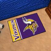 """Minnesota Vikings Uniform Inspired Starter Rug 19""""x30"""""""