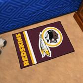 "Washington Redskins Uniform Inspired Starter Rug 19""x30"""