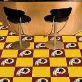 "Washington Redskins Carpet Tiles 18""x18"" tiles"