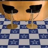 "Dallas Cowboys Carpet Tiles 18""x18"" tiles"