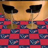"Houston Texans Carpet Tiles 18""x18"" tiles"