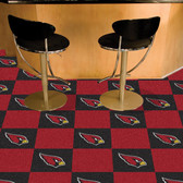 "Arizona Cardinals Carpet Tiles 18""x18"" tiles"