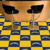 "San Diego Chargers Carpet Tiles 18""x18"" tiles"