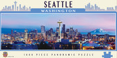 Seattle 1000 Piece Panoramic Puzzle