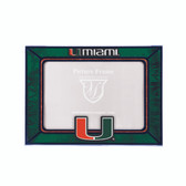 Miami Hurricanes 2015 Art Glass Frame