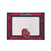 Oklahoma Sooners 2015 Art Glass Frame