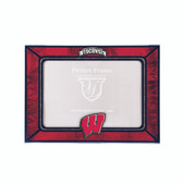 Wisconsin Badgers 2015 Art Glass Frame