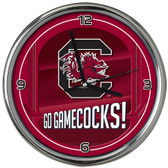 South Carolina Gamecocks Go Team! Chrome Clock