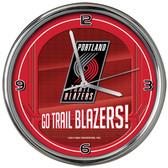 Toronto Raptors Go Team! Chrome Clock