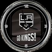 Los Angeles Kings Go Team! Chrome Clock
