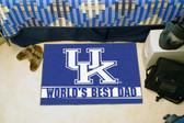 """Kentucky Wildcats Worlds Best Dad Starter Rug 19""""x30"""""""