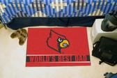 """Louisville Cardinals Worlds Best Dad Starter Rug 19""""x30"""""""