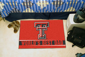 "Texas Tech Red Raiders Worlds Best Dad Starter Rug 19""x30"""