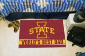 """Iowa State Cyclones Worlds Best Dad Starter Rug 19""""x30"""""""