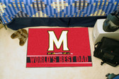 "Maryland Terrapins Worlds Best Dad Starter Rug 19""x30"""