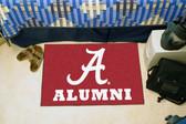 "Alabama Crimson Tide Alumni Starter Rug 19""x30"""