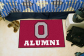 """Ohio State Buckeyes Alumni Starter Rug 19""""x30"""""""
