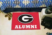 """Georgia Bulldogs Alumni Starter Rug 19""""x30"""""""