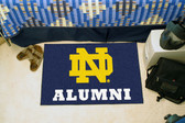 "Notre Dame Fighting Irish Alumni Starter Rug 19""x30"""