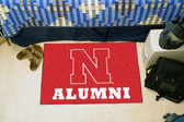 "Nebraska Cornhuskers Alumni Starter Rug 19""x30"""