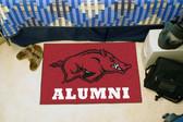 "Arkansas Razorbacks Alumni Starter Rug 19""x30"""