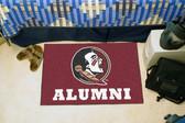 "Florida State Seminoles Alumni Starter Rug 19""x30"""