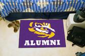 "LSU Tigers Alumni Starter Rug 19""x30"""