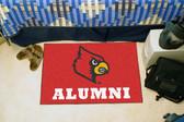 "Louisville Cardinals Alumni Starter Rug 19""x30"""