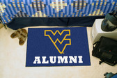 "West Virginia Mountaineers Alumni Starter Rug 19""x30"""