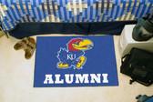 """Kansas Jayhawks Alumni Starter Rug 19""""x30"""""""