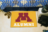 "Minnesota Golden Gophers Alumni Starter Rug 19""x30"""
